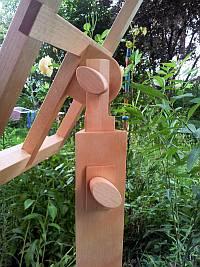 Der Harfenständer (Detail)
